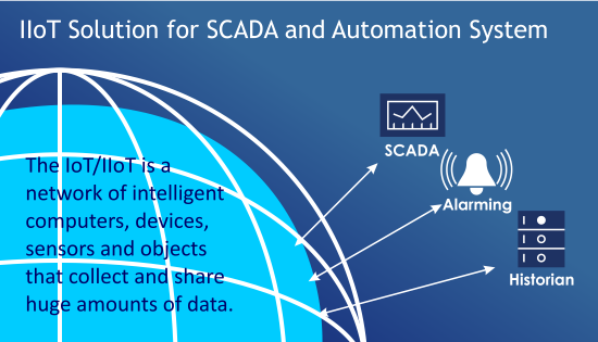 IIoT Solution for SCADA and Automation System